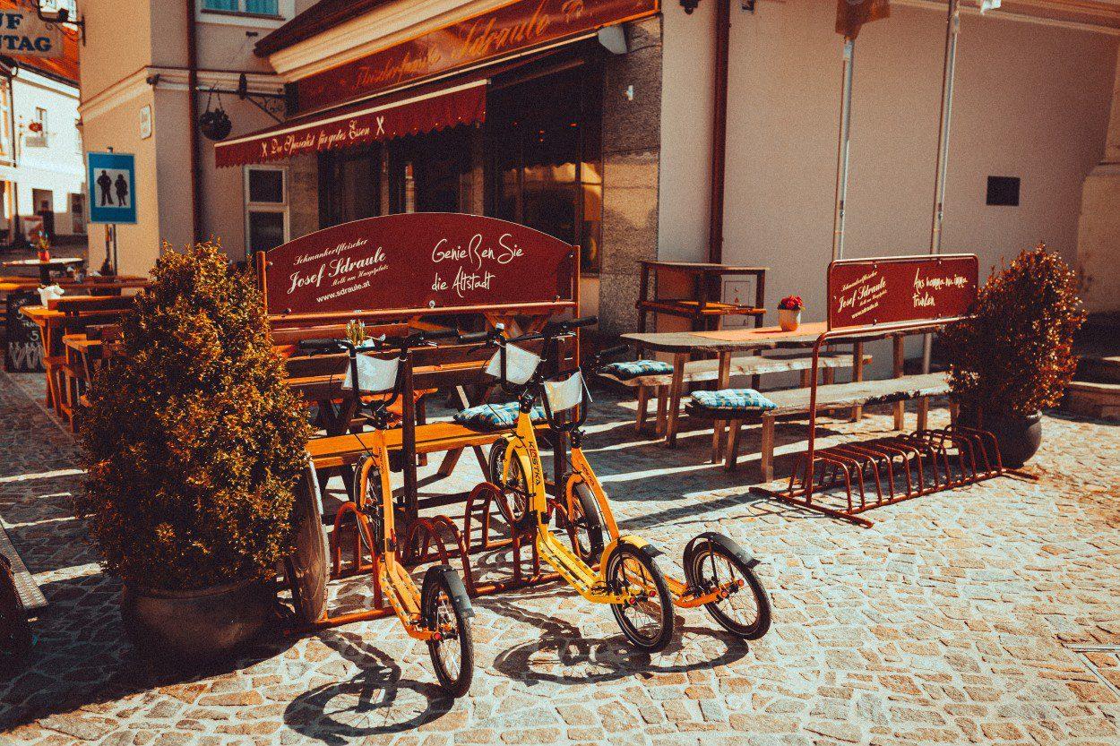 Kick Bikes in UNESCO Wachau valley